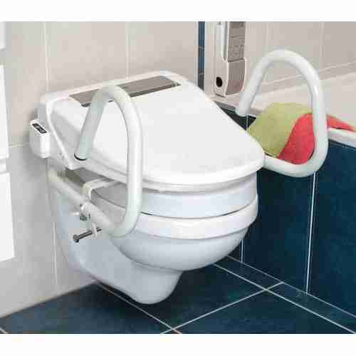 Throne 3 in 1 Toilet Rail - Total Mobility