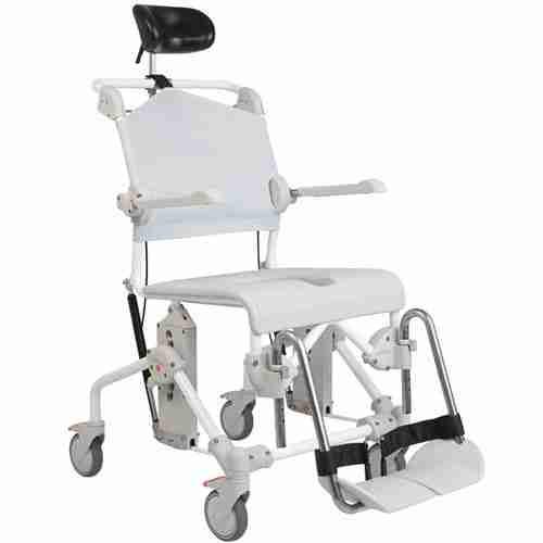 Ergonomically Correct Chair ETAC Swift Mobile Tilt Shower Commode - Total Mobility