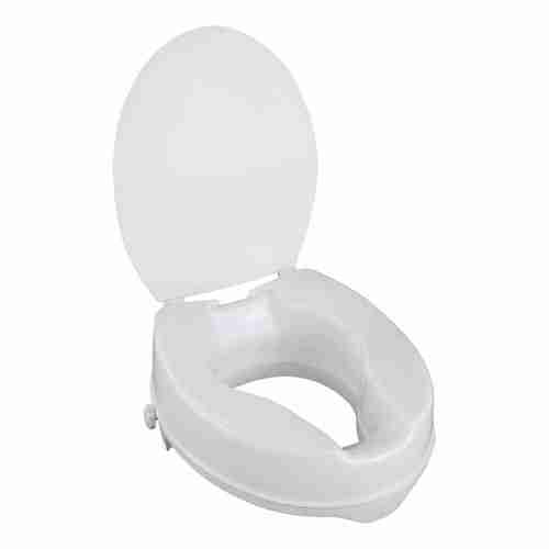 Awe Inspiring Better Living Fixed Height Raised Toilet Seat With Lid Evergreenethics Interior Chair Design Evergreenethicsorg