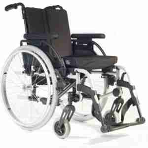 The Breezy Rubix/Rubix XL Wheelchair is durable, adjustable and highly configurable.