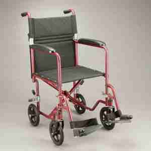 Care Quip Echo Transit Wheelchair