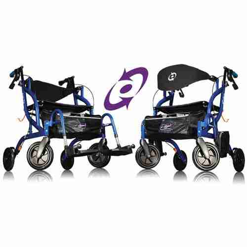 862e9fe8a4df Fusion 2-in-1 Rollator - Total Mobility