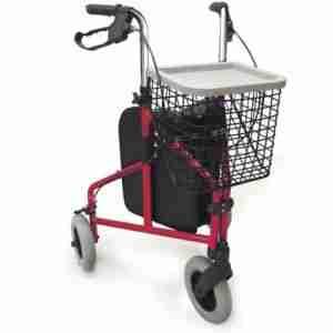 Tri-Wheel Wheeled Walker