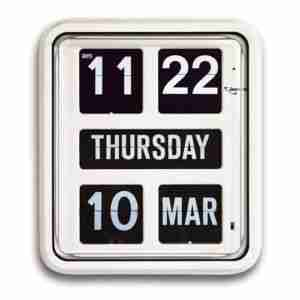 Calendar Clock - Day of the Week