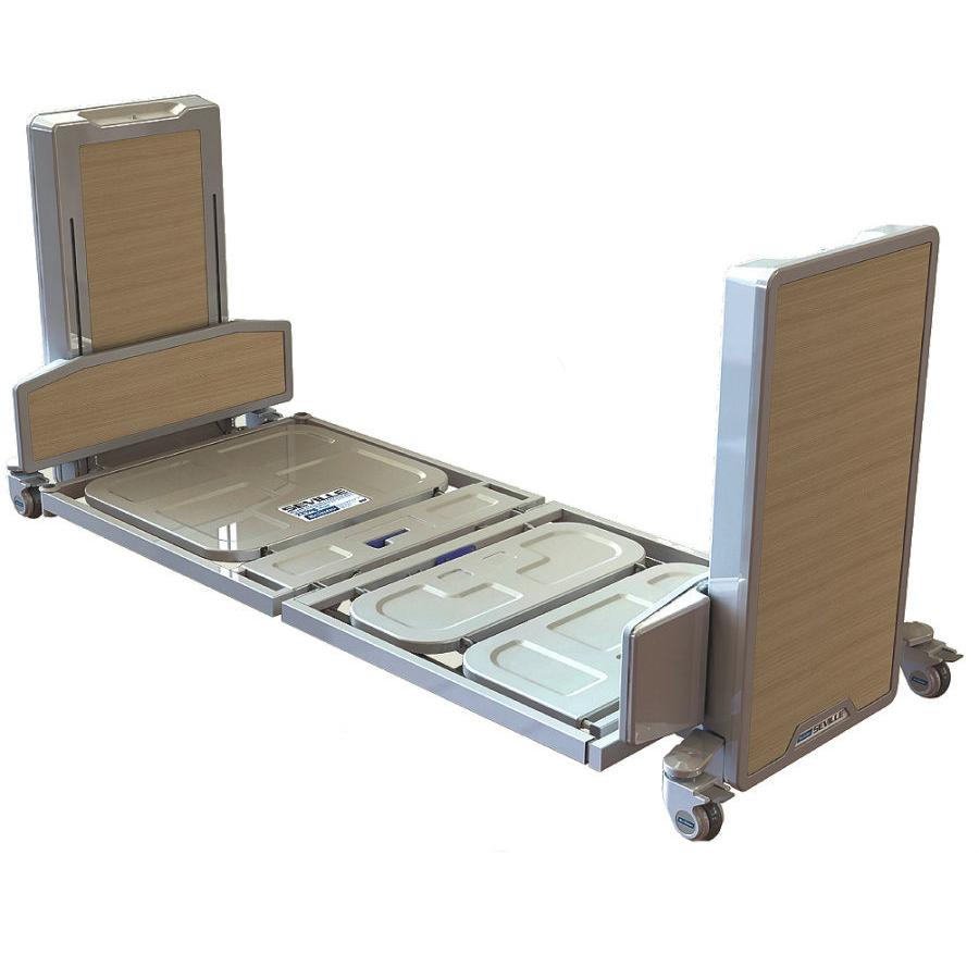 K care seville mc310 folding floorline bed total for Folding bed